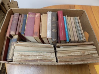 Lot 1266 - Books on Cornish and other mineralogy, BOX.