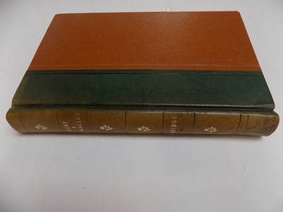 """Lot 1283 - CUMMINGS (A. H.). """"The Churches and..."""