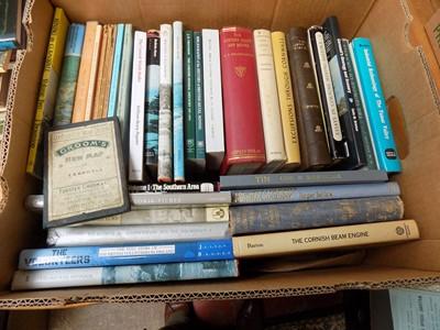 Lot 1287 - CORNISH BOOKS. Good Quality. TWO BOXES.