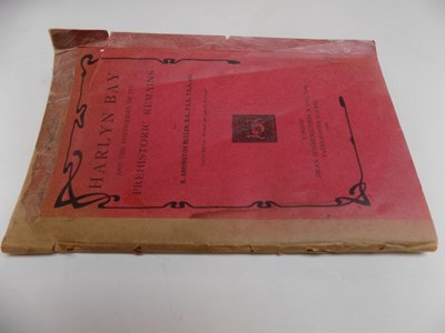 """Lot 1284 - BULLEN (R. A.). """"Harlyn Bay and discoveries of..."""