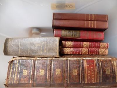 Lot 1291 - BOOKS. Various. BOX.