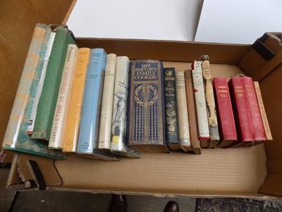 Lot 1294 - BOOKS. Various. Box
