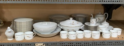 Lot 7-An extensive Limoges dinner and coffee service...