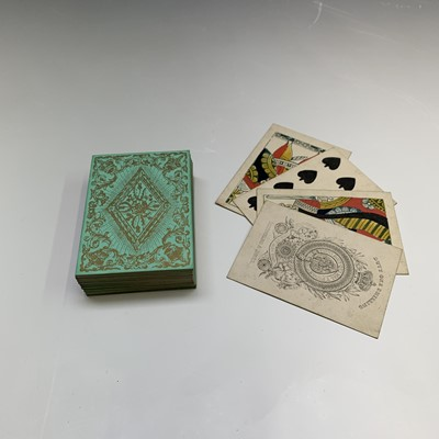 Lot 18-A set of Reynolds & Sons playing cards, early...