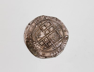 Lot 28 - G.B. HAMMERED COIN. A Charles I shilling (F)...