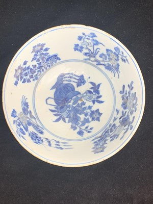 Lot 7-A Chinese porcelain bowl, Daoguang mark and...