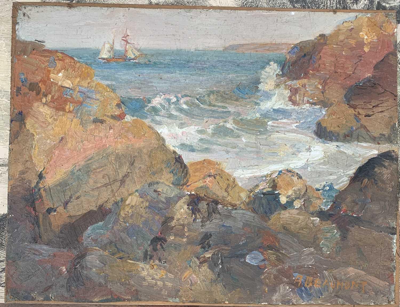 Lot 8-Arthur BEAUMONT (1879-1956) North Cornish...
