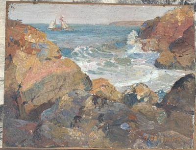 Lot 8 - Arthur BEAUMONT (1879-1956) North Cornish...
