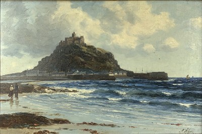 Lot 10 - Richard WANE (1852 - 1904) St Michael's Mount...