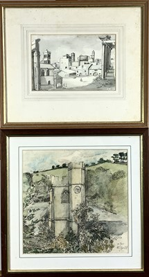 Lot 18-Chris INSOLL (b.1956) St Just in Roseland...