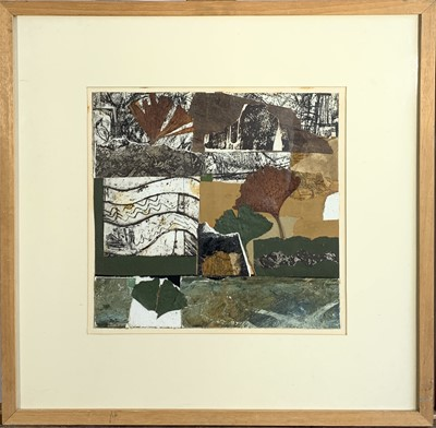 Lot 39-Peter FOX (1952) Autumn Collage Mixed media...