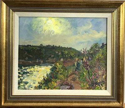 Lot 12 - Michael J. STRANG (1942) A Summers Evening...
