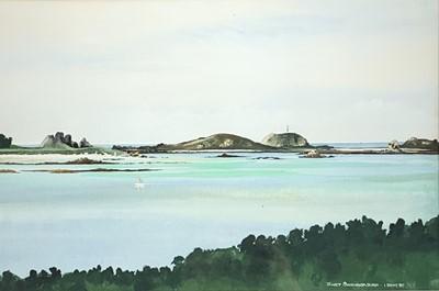 Lot 6-Janet SWANBOROUGH View to Round Island, St...
