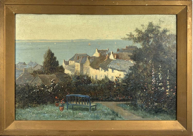 Lot 16-Richard WANE (1852 - 1904) A view across...