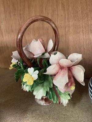 Lot 18-An oriental bowl set, Denby Pottery, glassware,...