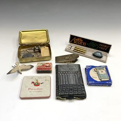Lot 17-A 1914 Queen Mary brass Christmas box, an...