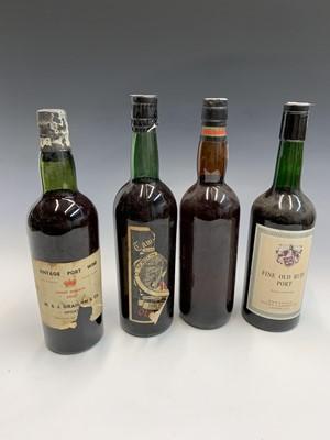 Lot 18-A bottle of Graham & Co 1955 finest reserve...