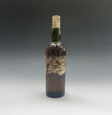 Lot 22-A bottle of vintage whisky, indistinctly...