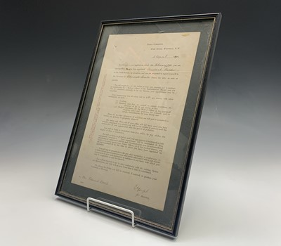 Lot 20 - A late Victorian prison warders document,...