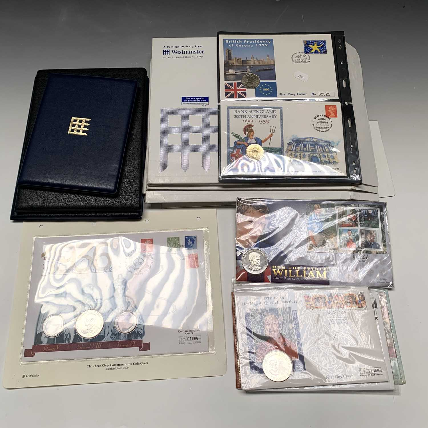 Lot 9 - Coin Covers - Quantity of coin covers, many in...