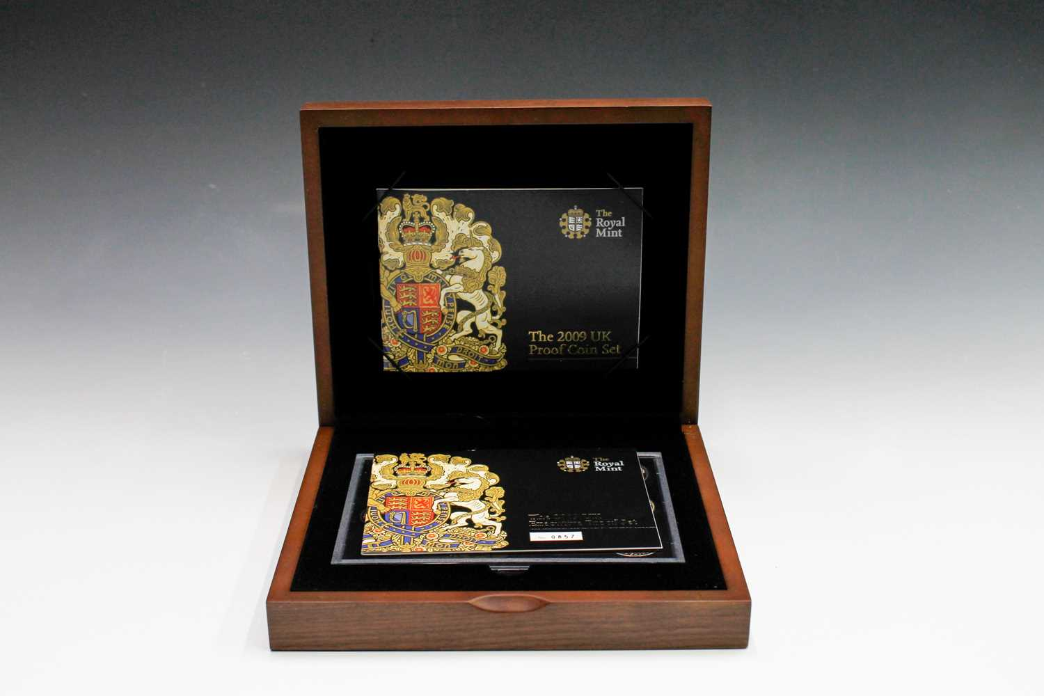 Lot 11 - GB 2009 Executive proof collection in wooden...