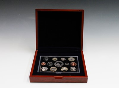 Lot 13 - GB 2006 Executive proof collection in wooden...
