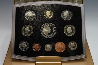 Lot 14 - GB 2003 Executive coln proof set no certificate.