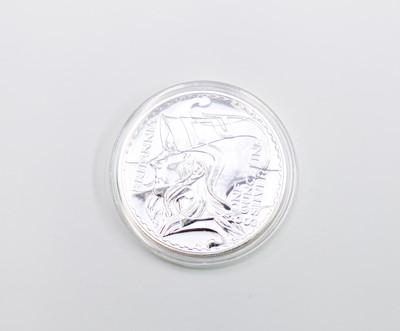 Lot 15 - GB - £2 silver Britannia x 4, 2002/3 + 2007/8.