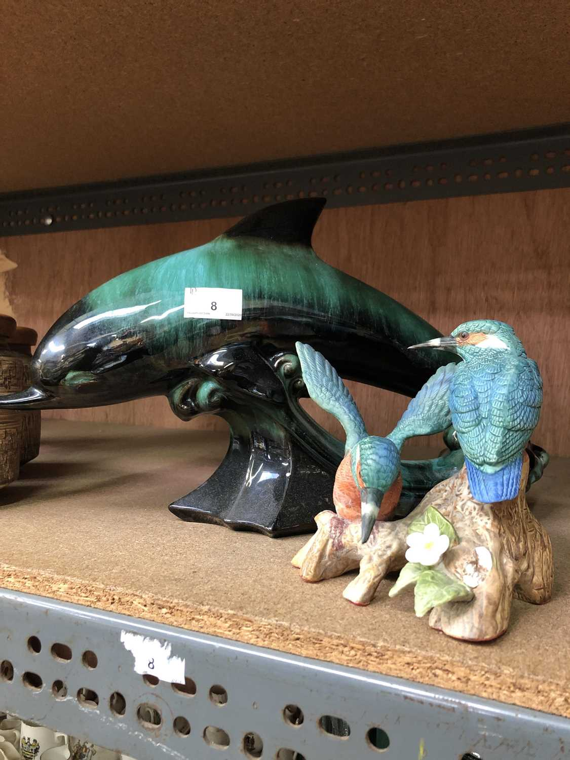 Lot 8-A Canadian Blue Mountain Pottery-style ceramic...