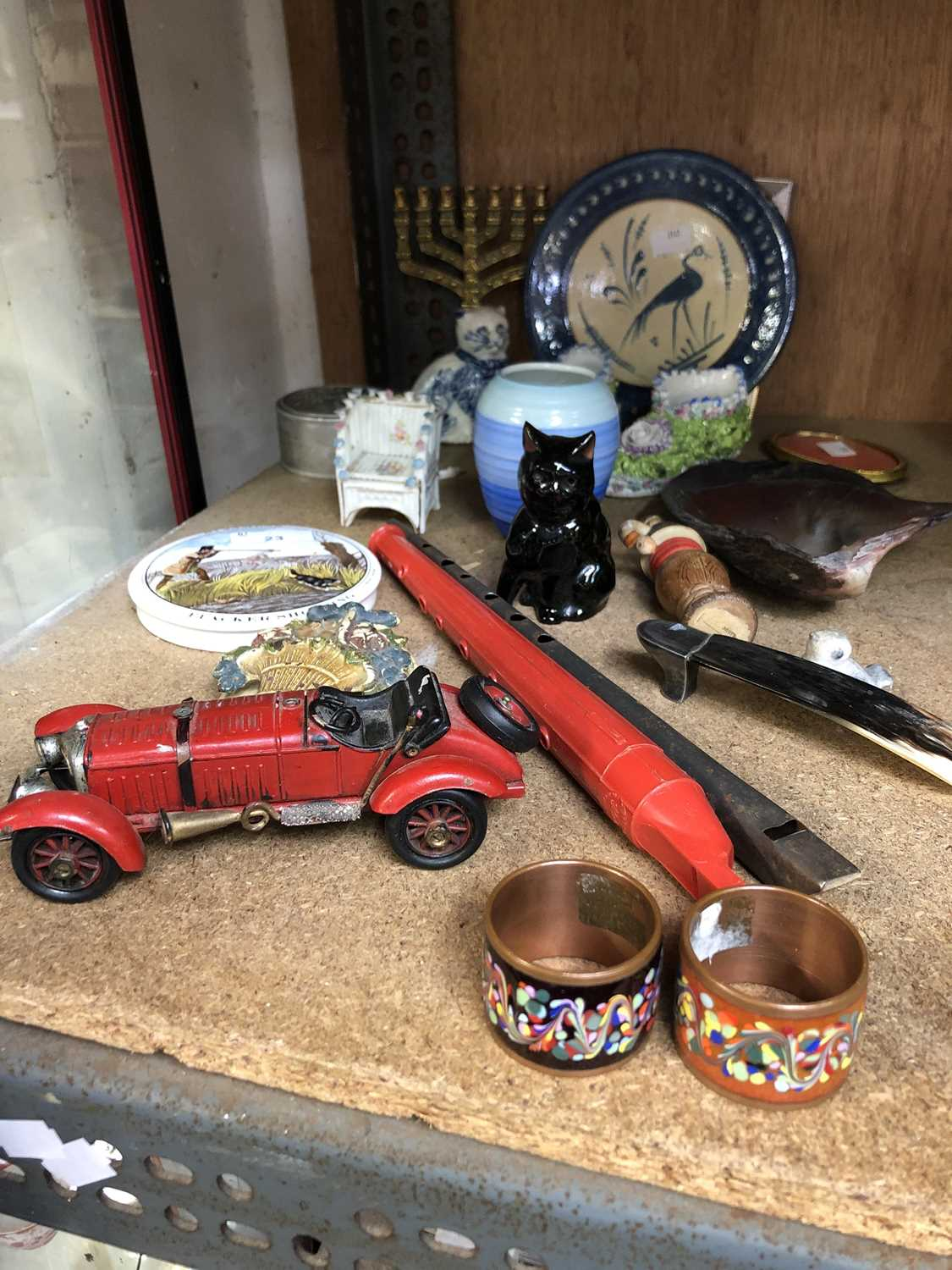 Lot 23-Collectable and curios, including a Shelley...
