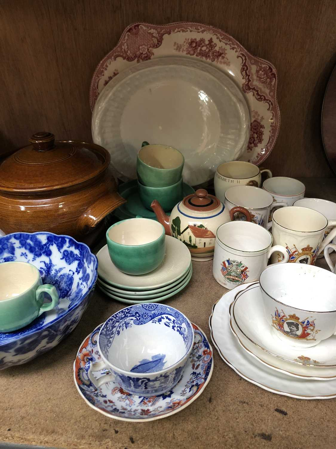 Lot 31 - S.H Brannam of Barnstaple plates, cups and...