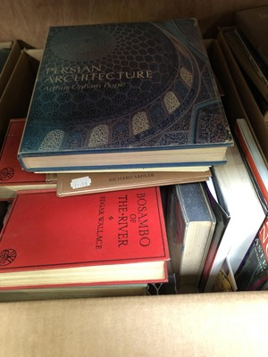 Lot 38 - Four boxes of books