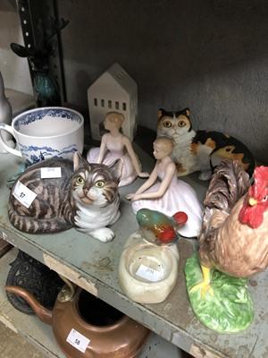 """Lot 57 - """"Fascination"""" Eric Tenney Franklin porcelain..."""