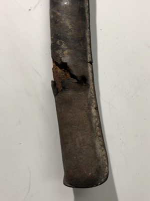 Lot 24-A Japanese WWII Katana sword, with steel blade...