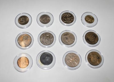 Lot 24-GB coinage - box containing mostly modern GB...