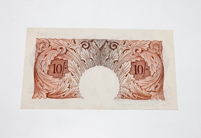 Lot 25 - Banknotes - 4 GB 10/- notes including 2...