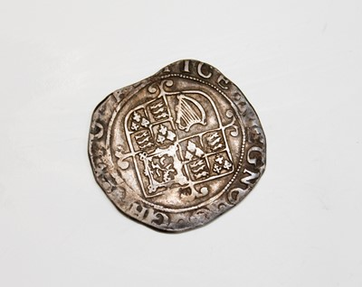 Lot 29 - G.B. HAMMERED COIN. A Charles I shilling (F)...