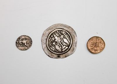 Lot 31 - ROMAN & LATER COINS (x 3). Lot comprises: A...