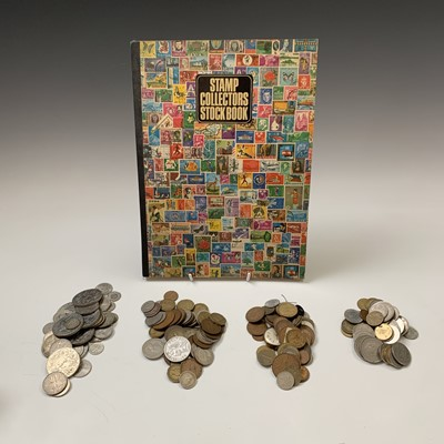 Lot 63 - G.B. & WORLD COINS: A mixture of G.B. coins...