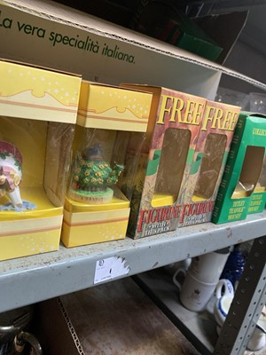 Lot 48-Various collectable figurines from Tetley and...