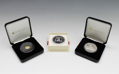 Lot 51 - TRISTAN DA CUNHA PROOF COINS x 3 lot contains...