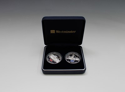 Lot 52 - WESTMINSTER CASED COIN SETS x 3 - Lot contains...