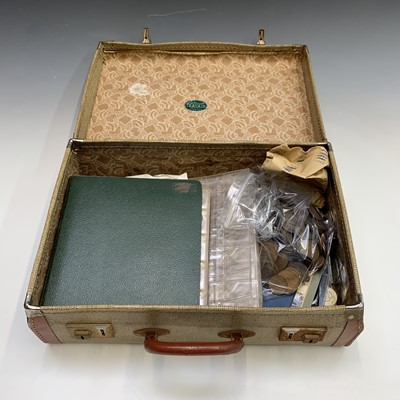 Lot 56 - GREAT BRITAIN: A heavy case containing a large...