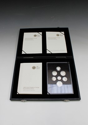 Lot 46 - GREAT BRITIAIN 2008 silver proof collection...