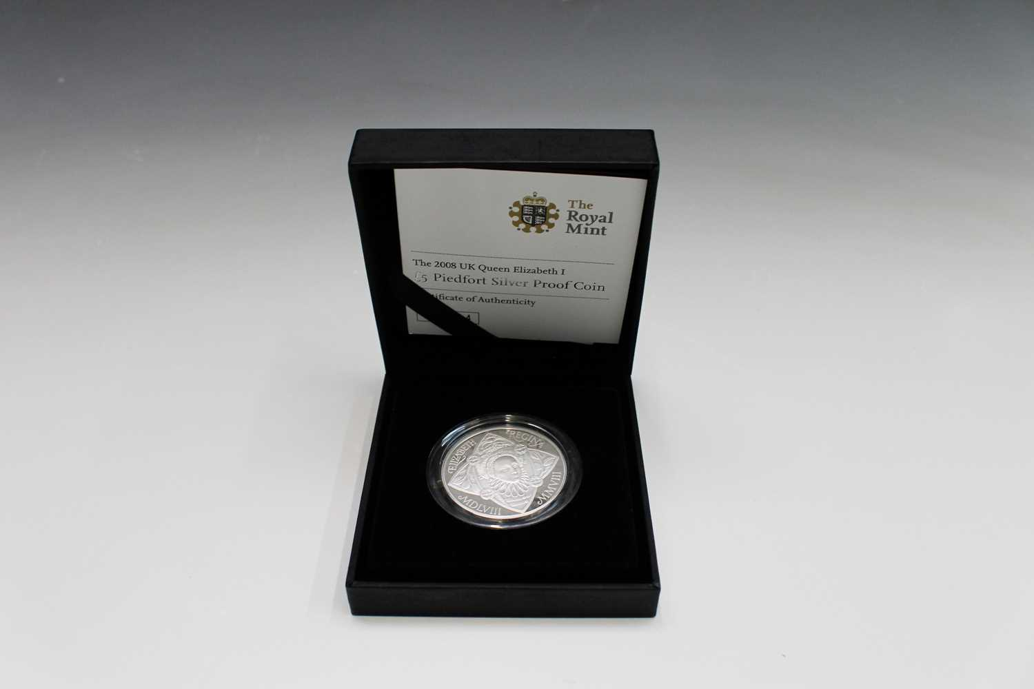 Lot 48 - GREAT BRITAIN 2008 silver proof £5 Piedfort...