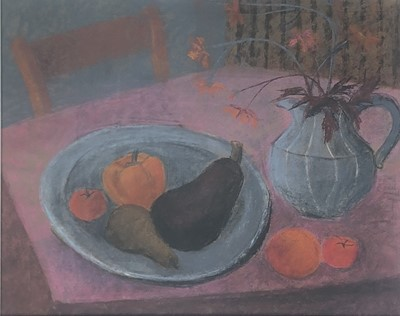 Lot 4 - Biddy PICARD (1922 - 2019) Fruit and Plate...