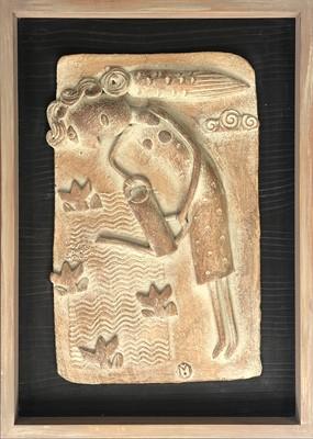 Lot 20 - John MALTBY (1936) Gardening Angel Ceramic...
