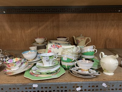 Lot 16-A large collection of porcelain cups and...