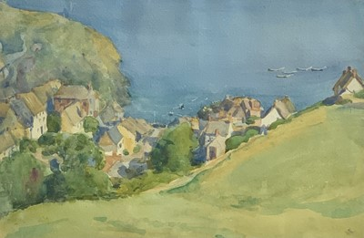 Lot 29 - Cadgwith Cove Watercolour Purchased from the...