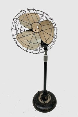 Lot 2 - A vintage floor standing electric fan, with...